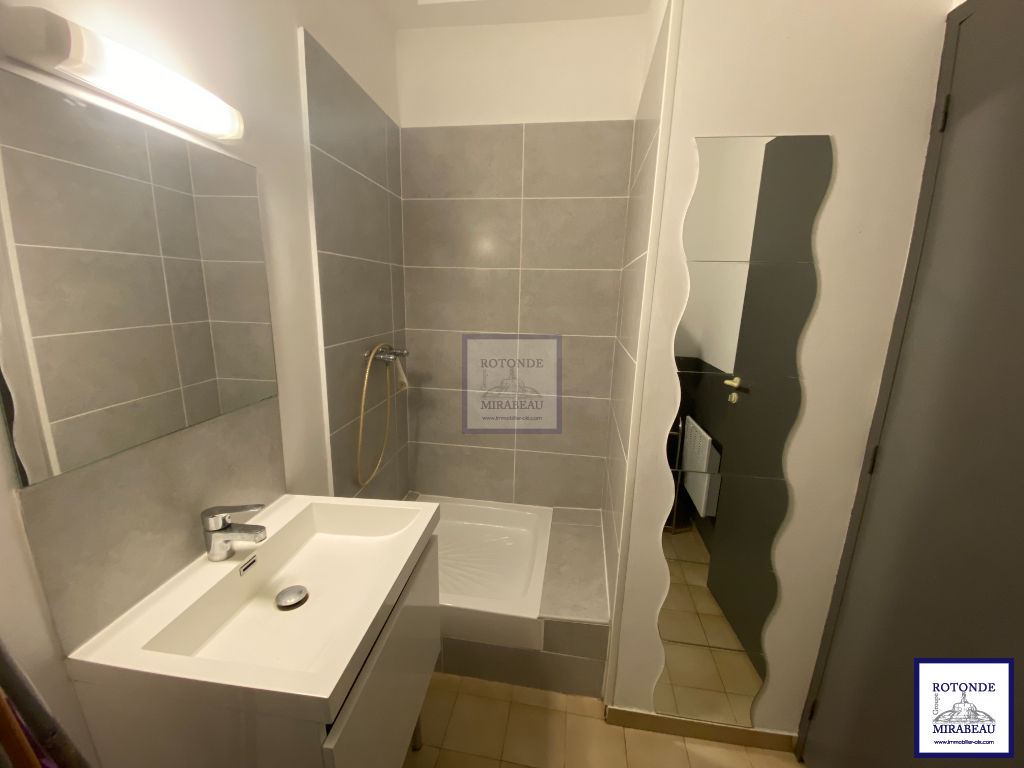 Location Appartement AIX EN PROVENCE séjour de 9.52 m²