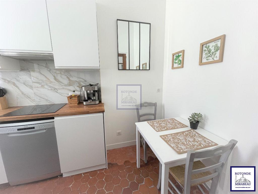 Location Appartement AIX EN PROVENCE séjour de 14.29 m²